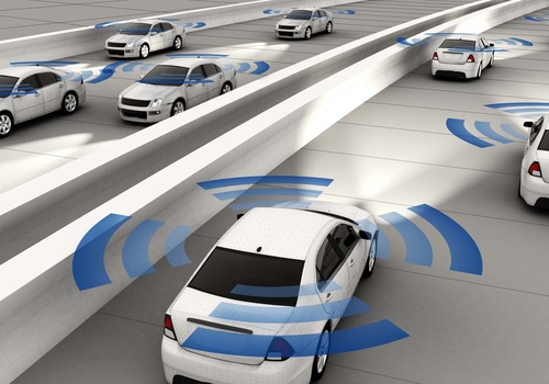 car with ADAS systems