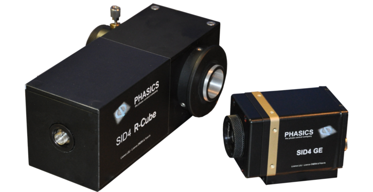 Phasics R-Cube illumination module for SID4 wavefront sensors